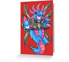 Pokemon - Hydreigon Greeting Card