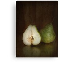 ~ still life - pears ~ Canvas Print