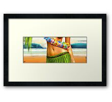 Hawaiiana Framed Print