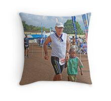 Chariots of Fire  - Kilimanjaro style! Throw Pillow