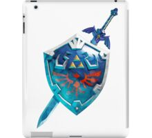 The Master Sword With the Hylian Shield iPad Case/Skin