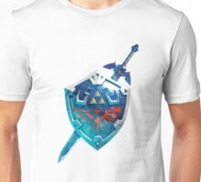The Master Sword With the Hylian Shield Unisex T-Shirt