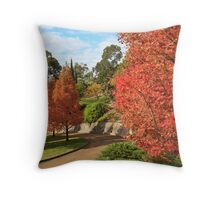 Autumn trees 2 Throw Pillow