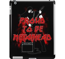 Proud to be metalhead iPad Case/Skin