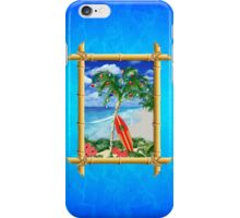 Beach Christmas iPhone Case/Skin