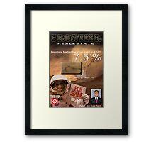 Becoming Martian Framed Print