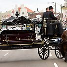 Horse drawn hearse by Alex Howen