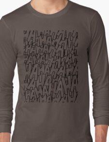 Ha Ha Ha - Purple Long Sleeve T-Shirt