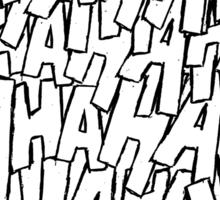 Ha Ha Ha - Purple Sticker