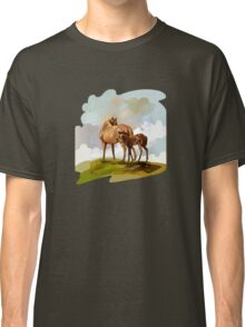 Mare and Foal Classic T-Shirt