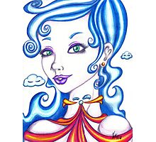 Lady of the Clouds Photographic Print