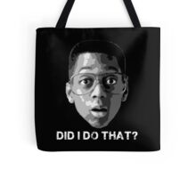 Urkel … Did I do that? (2) Tote Bag