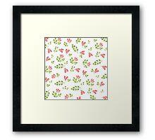 Spring flora Framed Print
