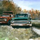 Westchester Work Trucks #2 by Anthony Billings