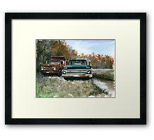 Westchester Work Trucks #2 Framed Print