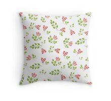 Spring flora Throw Pillow