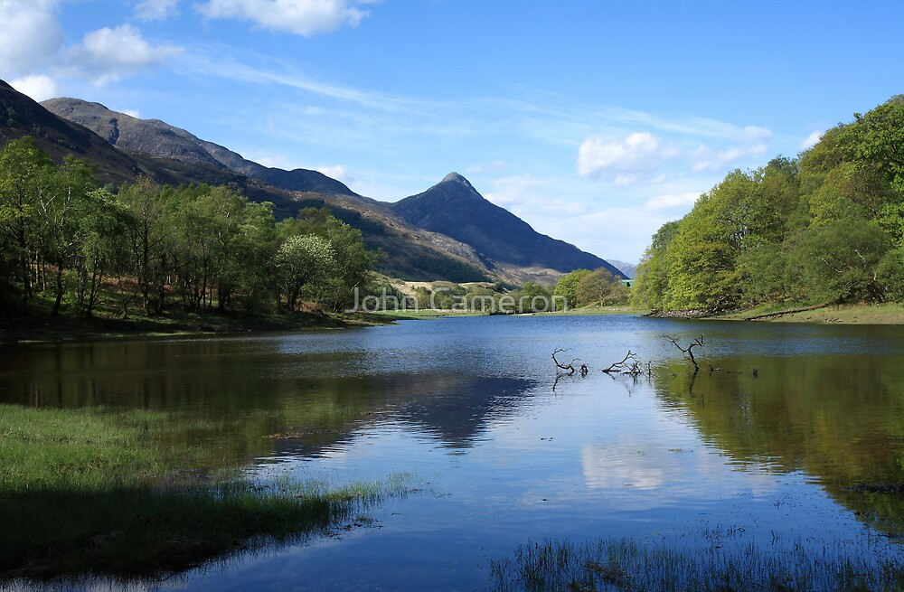 Loch Leven and the Pap of Glencoe. by John Cameron