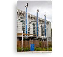 Eco building Canvas Print
