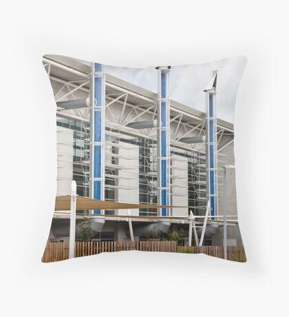 Eco building Throw Pillow