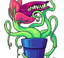 Villainous Vegetation Series - Carnivorous Creeper by RaideoDesigns