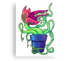 Villainous Vegetation Series - Carnivorous Creeper Metal Print