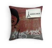 :: Available :: Throw Pillow