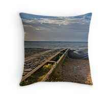 Launching Ramp Throw Pillow