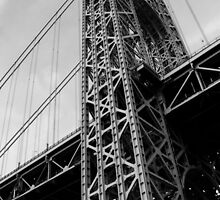 George Washington Bridge by Amanda Vontobel Photography/Random Fandom Stuff