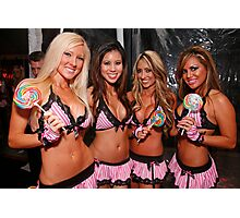 Candy girls Photographic Print