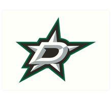 Dallas Stars Logo Art Print