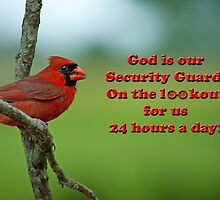 God is our Security Guard by Bonnie T.  Barry
