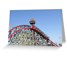 Texas Giant (New), Six Flags Over Texas Greeting Card