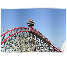 Texas Giant (New), Six Flags Over Texas Poster