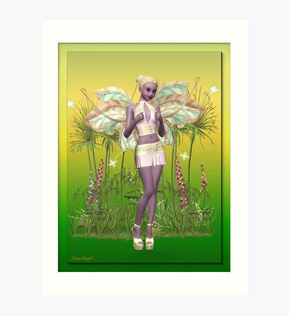 Meadow Fae Art Print