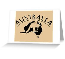 Australia. Greeting Card