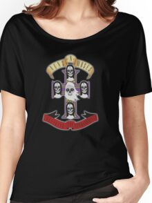 Nuns N Moses | Guns n Roses Women's Relaxed Fit T-Shirt