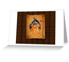 Who is the Mad Hatter ? Snow White  Greeting Card