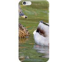Mr and Mrs Mallard iPhone Case/Skin