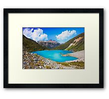 Upper Joffre Lake - British Columbia Framed Print