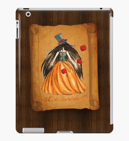 Who is the Mad Hatter ? Snow White  iPad Case/Skin