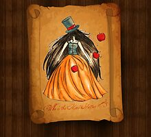 Who is the Mad Hatter ? Snow White  by studinano