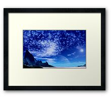 Desolation Peak Framed Print