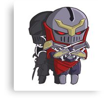 Chibi Zed League of Legends Shirt Canvas Print