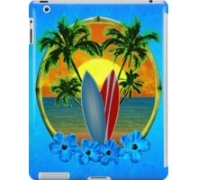 Sunset And Surfboards iPad Case/Skin