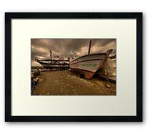 Yakamoz Framed Print