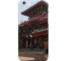 Kathmandu Temple Pigeons iPhone Case/Skin
