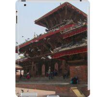 Kathmandu Temple Pigeons iPad Case/Skin