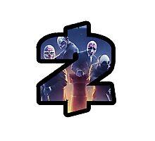 Payday 2 Logo Design #1 Photographic Print