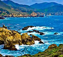 Big Sur, Rocky Point by photosbyflood
