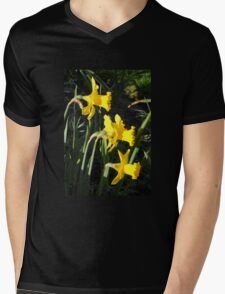Chorus of Daffodils (Lent Lilies) Mens V-Neck T-Shirt